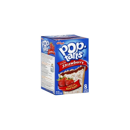 POP TARTS STRAWBERRY caja 8 unidades 400 gramos