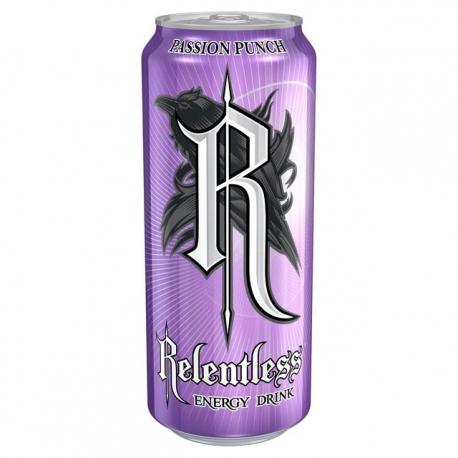 LATA RELENTLESS ENERGY DRINK PASSION PUNCH