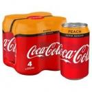 Caja de 24 Coca Cola Melocotón
