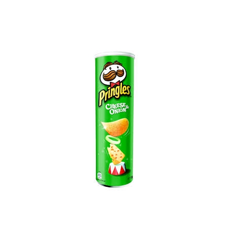 PRINGLES CHEESE ONION 165 gramos